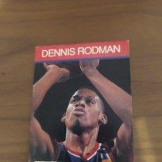 Coleccionismo deportivo: LIBRITO TIPO CROMO NBA HOOPS 1990 DENNIS RODMAN #46. Lote 295711863