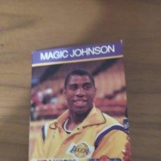 Coleccionismo deportivo: LIBRITO TIPO CROMO NBA HOOPS 1990 MAGIC JOHNSON #29. Lote 295713548