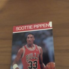 Coleccionismo deportivo: LIBRITO TIPO CROMO NBA HOOPS 1990 SCOTTIE PIPPEN #44. Lote 295715323