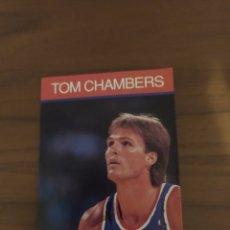Coleccionismo deportivo: NBA HOOPS LIBRITO TOM CHAMBERS 1990 TOM CHAMBERS #2. Lote 295717008