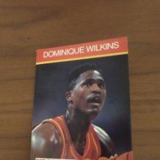 Coleccionismo deportivo: NBA HOOPS LIBRITO TOM CHAMBERS 1990 DOMINIQUE WILKINS #35. Lote 295719128