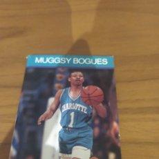 Coleccionismo deportivo: NBA HOOPS LIBRITO MUGGDY BOGUES 1990 MUGGSY BOGUES #26. Lote 295729743