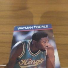 Coleccionismo deportivo: NBA HOOPS LIBRITO WAYMAN TISDALE 1990 DAYMÁN TISDALE #12. Lote 295731153