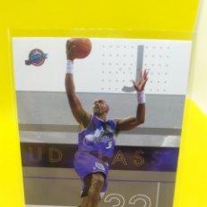 Coleccionismo deportivo: KARL MALONE 86 NBA UPPER DECK UD GLASS 2002-03 UTAH JAZZ. Lote 295809073