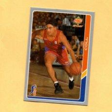 Coleccionismo deportivo: MUNDICROMO LAS FICHAS DE LA ACB 95 Nº 194 COLL BALONCESTO SALAMANCA 1994-1995. Lote 297017518