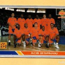 Coleccionismo deportivo: MUNDICROMO LAS FICHAS DE LA ACB 95 ALL STARS EUROPE Nº 203 ACB ESPAÑA 1994-1995. Lote 297022408