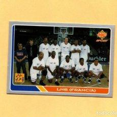 Coleccionismo deportivo: MUNDICROMO LAS FICHAS DE LA ACB 95 ALL STARS EUROPE Nº 204 LNB FRANCIA 1994-1995. Lote 297022523