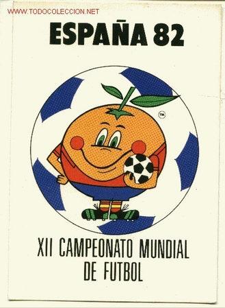 FÚTBOL: NARANJITO.ESPAÑA 82 (Coleccionismo Deportivo - Postales de Deportes)