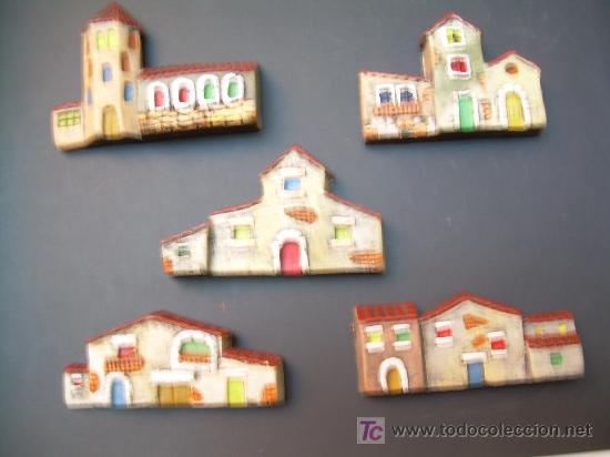 figuras de beln figura de belen cuatro casas de barro para decorar original