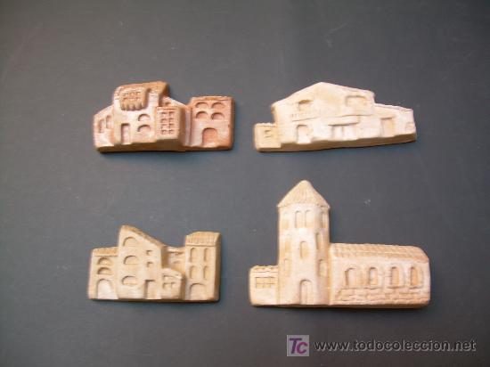 figura belen cuatro casas de barro para decorar antigua casa m ortigas de
