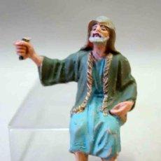 Figuras de Belén: FIGURA EN PLASTICO BELEN 60S PECH . Lote 10926490
