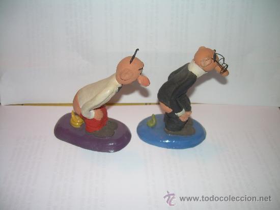 CAGANER - CAGANE - CAGON....FIGURAS DE MORTADELO Y FILEMON (Coleccionismo - Figuras de Belén)