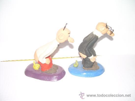 Figuras de Belén: CAGANER - CAGANE - CAGON....FIGURAS DE MORTADELO Y FILEMON - Foto 2 - 23662531