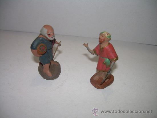 Figuras de Belén: ANTIGUAS FIGURAS DE BARRO - Foto 2 - 17996800