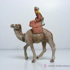 Figuras de Belén: FIGURA DE BELEN, REY, CAMELLO, . Lote 23528347
