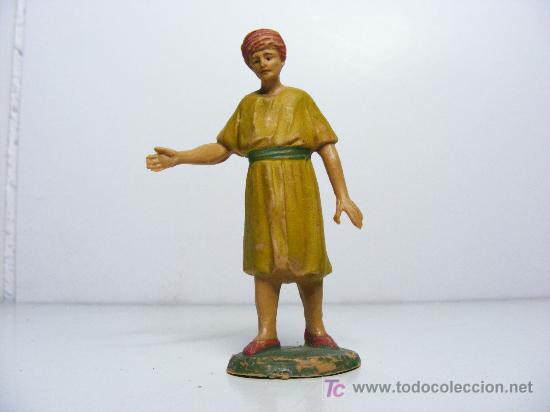 ANTIGUA FIGURA DE BELEN, FIGURA, (Coleccionismo - Figuras de Belén)
