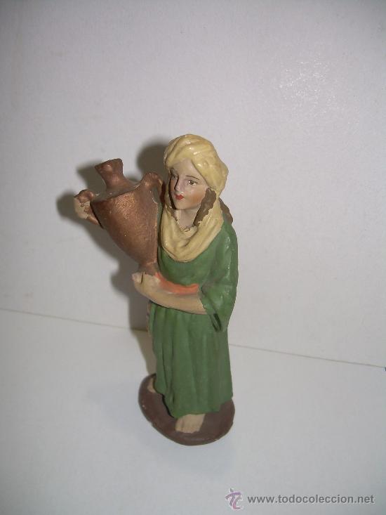 ANTIGUA FIGURA DE BELEN (Coleccionismo - Figuras de Belén)