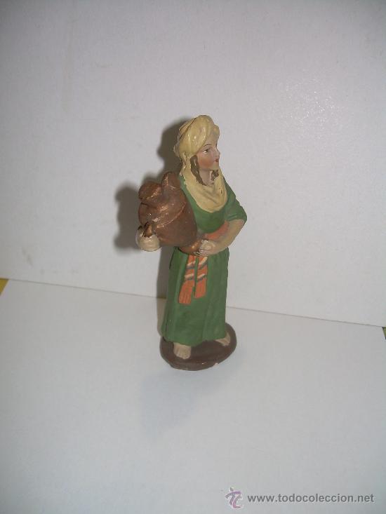 Figuras de Belén: ANTIGUA FIGURA DE BELEN - Foto 2 - 19465167