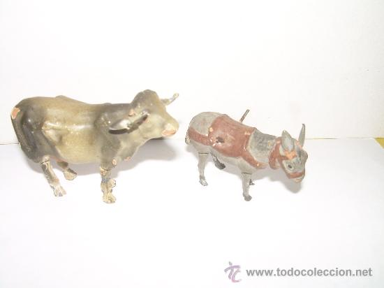 Figuras de Belén: ANTIGUAS FIGURAS DE BARRO - Foto 2 - 16283494
