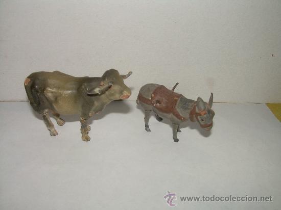 Figuras de Belén: ANTIGUAS FIGURAS DE BARRO - Foto 3 - 16283494