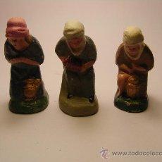 Figuras de Belén: ANTIGUAS FIGURAS DE BELEN (PESEBRE).. Lote 40901945