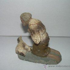Figuras de Belén: FIGURA DE TERRACOTA. Lote 23080985
