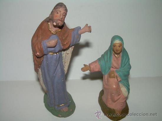 ANTIGUAS Y BONITAS FIGURAS (Coleccionismo - Figuras de Belén)