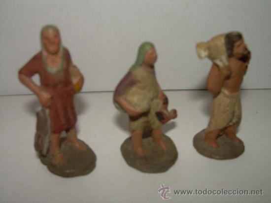 Figuras de Belén: ANTIGUAS FIGURAS DE TERRACOTA - Foto 2 - 21770279