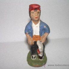 Figuras de Belén: ANTIGUA FIGURA DE TERRACOTA.. Lote 21206113