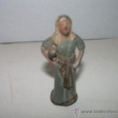Figuras de Belén: ANTIGUA FIGURA DE PLOMO. Lote 22408139