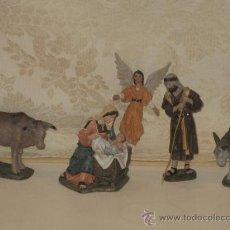 Figuras de Belén: PRECIOSO BELEN EN RESINA DEL ESCULTOR J. MAYO. Lote 26715192