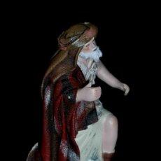 Figuras de Belén: ANTIGUA FIGURA BELÉN BELENISMO, BARRO TERRACOTA, PUIG PESEBRISTAS, BARCELONA. EXCELENTE ESTADO.. Lote 23034664