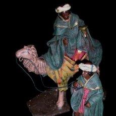 Figuras de Belén: ANTIGUAS FIGURAS BELÉN BELENISMO, BARRO TERRACOTA, PUIG PESEBRISTAS, BARCELONA. EXCELENTE ESTADO.. Lote 24683474