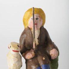 Figuras de Belén: ANTIGUA FIGURA DE BELEN (O PESEBRE) EN BARRO (O TERRACOTA). Lote 25924729