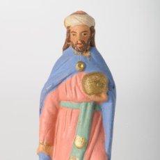 Figuras de Belén: FIGURA DE BELEN (O PESEBRE) EN BARRO (O TERRACOTA). Lote 25938967