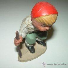 Figuras de Belén: FIGURA DE PLASTICO.......CAGANER.. Lote 27027592