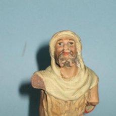 Figuras de Belén: FIGURA PASTOR PESEBRE(BELEN) EN TERRACOTA(BARRO), 14,5 CM. Lote 27583363