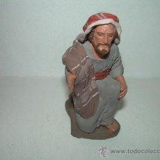 Figuras de Belén: ANTIGUA FIGURA DE TERRACOTA......FIRMADA. CARLOS DELGADO.. Lote 27913156