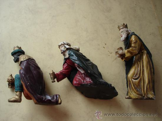 171e6f76ef8 Los tres reyes magos - resina - altura del mayo - Vendido en Subasta ...