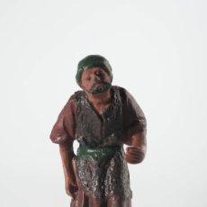 Figuras de Belén: FIGURA DE BELEN (O PESEBRE) EN BARRO (O TERRACOTA). Lote 29211316