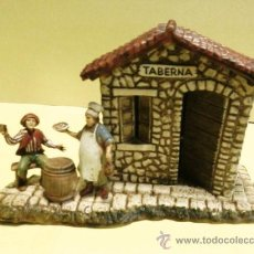 Figuras de Belén: NAVIDAD - BELEN / PESEBRE - GRUPO PASTOR - TABERNA - RESINA - 6CM - ESC. LANDI / ITALIA - CALIDAD. Lote 29308439