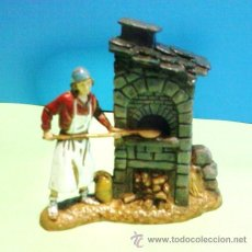 Figuras de Belén: NAVIDAD - BELEN / PESEBRE - GRUPO PASTOR - PANADERO Y HORNO - RESINA - 8CM - ESC. LANDI - CALIDAD. Lote 29367570