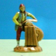 Figuras de Belén: NAVIDAD - BELEN / PESEBRE - PASTOR MINI - AFILADOR - RESINA - 3'5CM - ESC. LANDI / ITALIA - CALIDAD. Lote 46059692