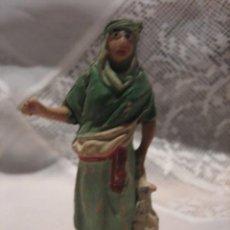 Figuras de Belén: FIGURA DE PLASTICO PARA BELEN AÑOS 60-70. Lote 29394600
