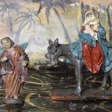 Figuras de Belén: FIGURAS PARA EL BELEN DE NAVIDAD - HUIDA A EGIPTO .. Lote 30093260