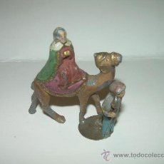 Figuras de Belén: ANTIGUA FIGURA DE PLOMO.. Lote 30178218