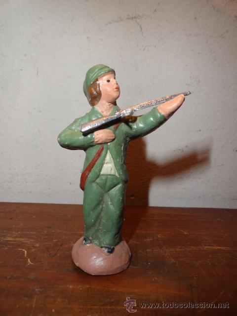 FIGURA DE PESEBRE (BELEN) CAZADOR (Coleccionismo - Figuras de Belén)