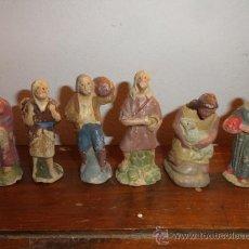 Figuras de Belén: LOTE 6 FIGURAS DE PESEBRE (BELEN) PASTORES. Lote 30308038
