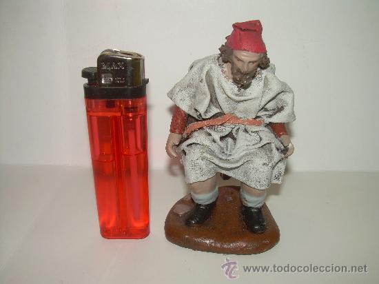 Figuras de Belén: ANTIGUA FIGURA DE TERRACOTA.....CAGANE - CAGANER...CAGON - Foto 4 - 30519772