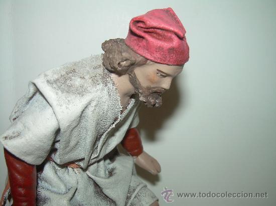 Figuras de Belén: ANTIGUA FIGURA DE TERRACOTA.....CAGANE - CAGANER - CAGON. - Foto 2 - 30519838